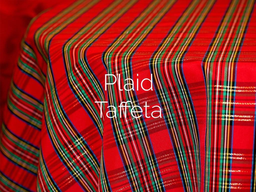 Plaid Taffeta