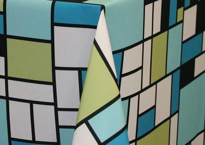 Mondrian - Aqua
