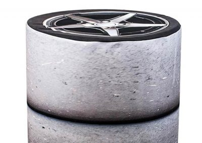 Barrel Cover - Tire Stack