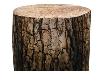 Barrel Cover - Tree Stump