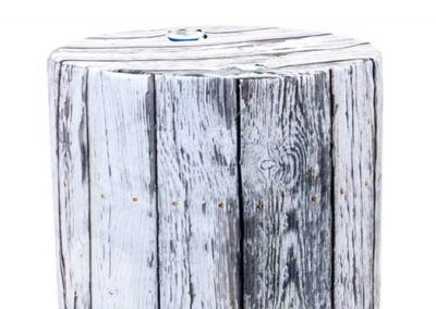 Barrel Cover - White Wood