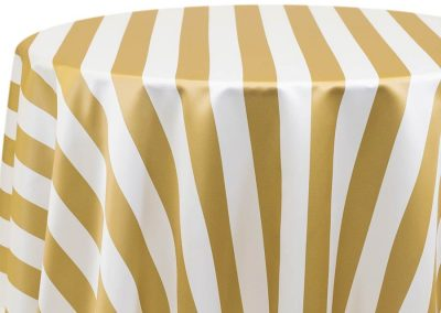 Hudson Stripe - Gold