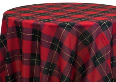 Scottish Plaid - Red