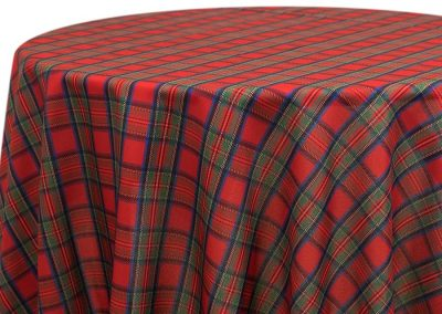 Tartan Plaid - Red
