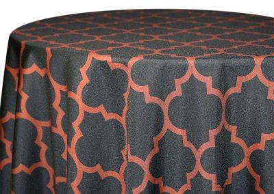 Alhambra - Brown on Black