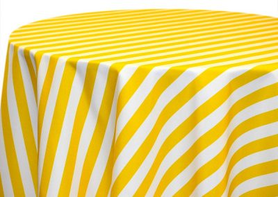 Awning Stripe - Lemon