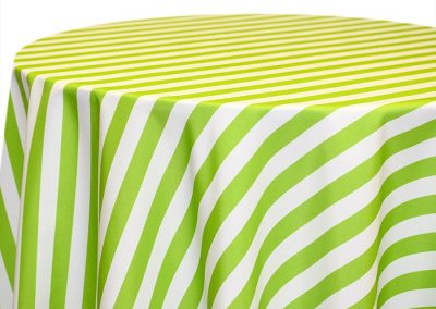 Awning Stripe - Lime