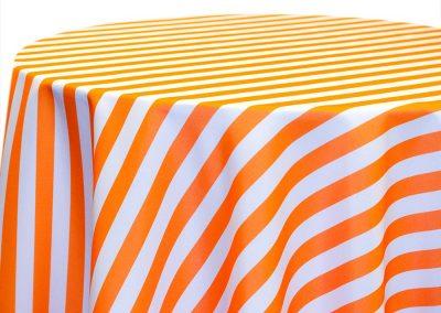 Awning Stripe - Tangerine