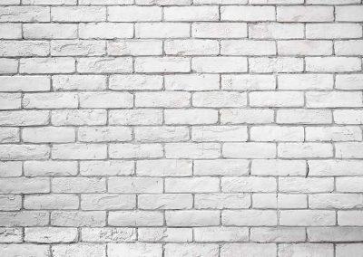Backdrop - White Brick