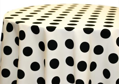 Big Dot - Black on Ivory