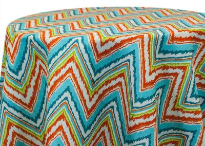 Flame Stitch - Turquoise