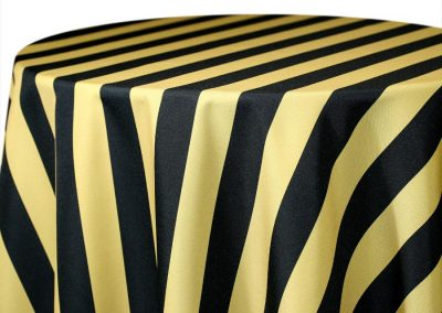 Hudson Stripe - Black / Gold