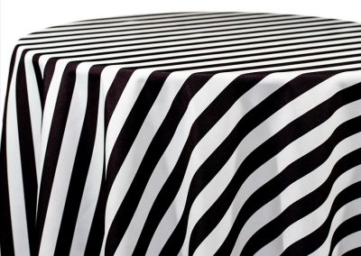 Awning Stripe - Black 512